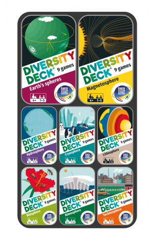 DIVERSITY DECK® Earth System Collection | 8 decks