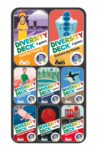 DIVERSITY DECK® Sustainability Collection   8 decks